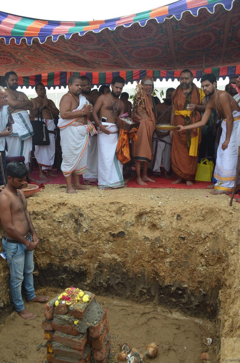 Bhoomi Puja performed at Vijayawada 13 Nov 2016 His