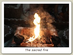The sacred fire